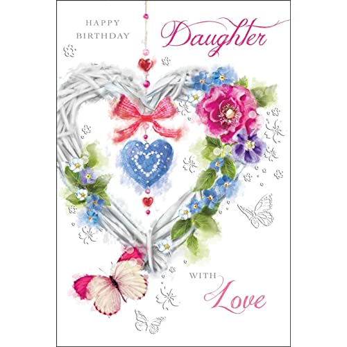 Birthday Daughter CARDS Amazoncouk