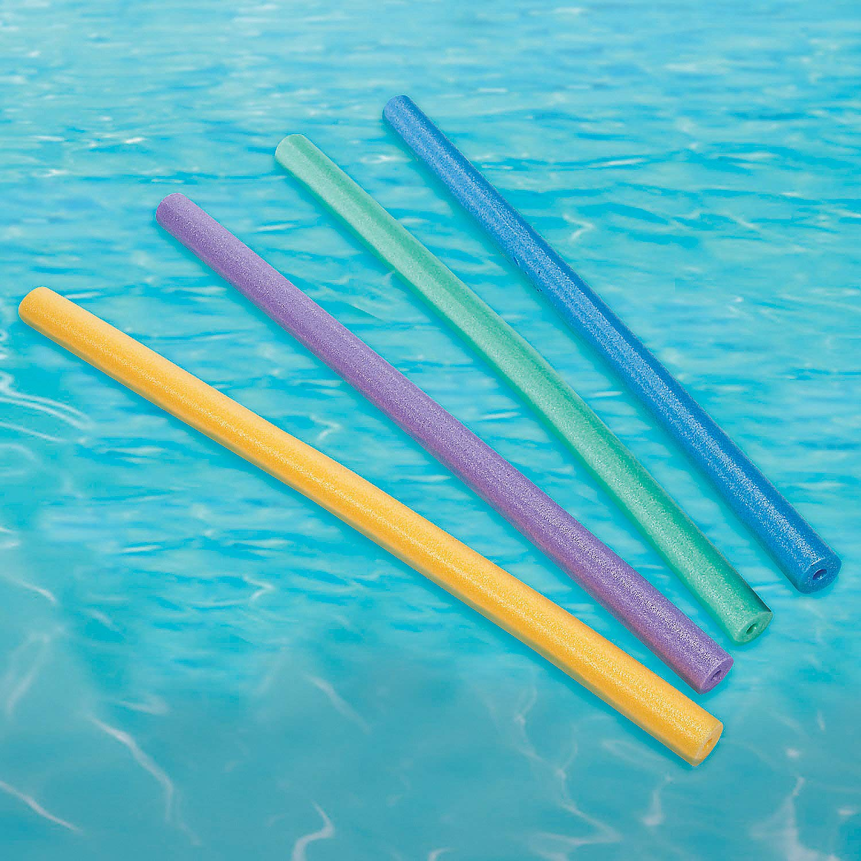 Fun Express - Pool Noodles - Toys - Active Play - Beach Toys - 24 Pieces by Fun Express