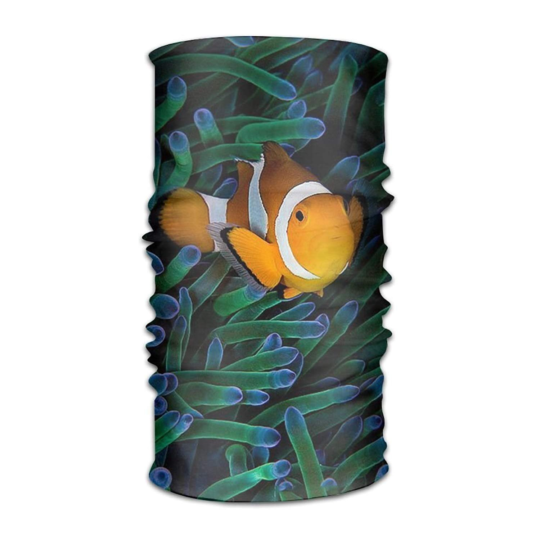 Jay94 Clownfish 16-in-1 Magic Scarf,Face Mask,Fishing Mask,Balaclava Bandana