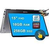 "Samsung 2020 Newest Notebook 9 Pro 2 in 1 Laptop 15"" FHD Touchscreen 8th Gen Intel Quad-Core i7-8550U 16GB DDR4 256GB SSD 2GB"