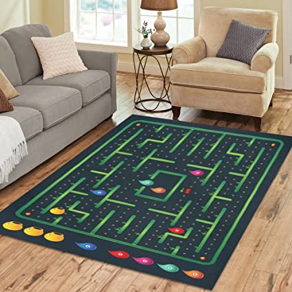 Amazon Com Gogogosky Custom Monster Labyrinth Video Game Area Rug