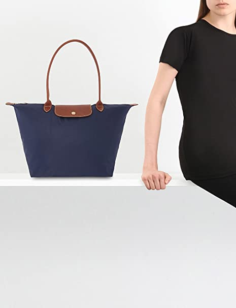 16bb98fb0 Longchamp Le Pliage Large Tote shoulder bag (Navy): Amazon.co.uk: Luggage