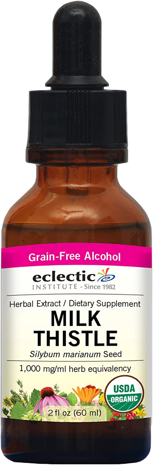 Eclectic Institute Milk Thistle O 2 Ounce