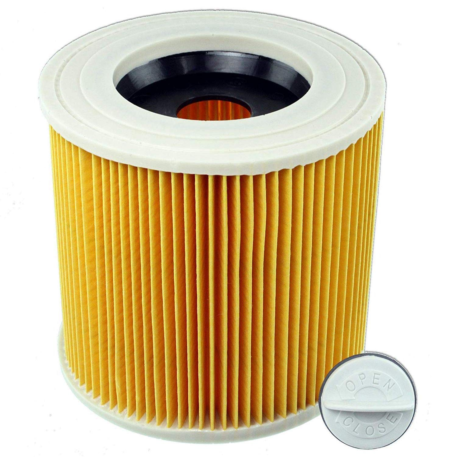 ANJUYA For Karcher Wet Dry Composite Vacuum Cleaners Filter vacuum filter