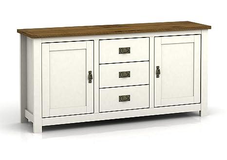 Muebles rústicos para sala de estar: mueble de TV, mesa de ...