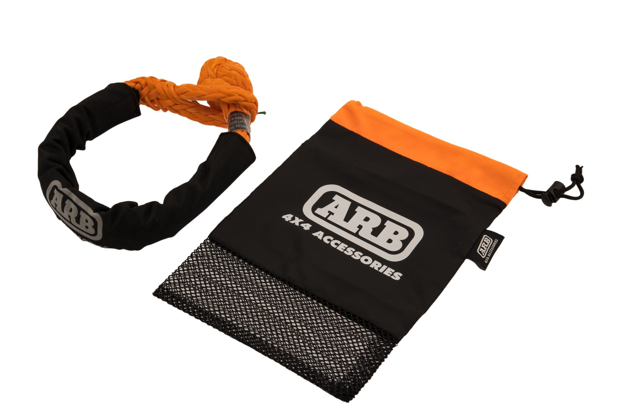 ARB Soft Rope Recovery Shackle 32,000lbs with Protective Sleeve and Gift Bag ARB2017 by ARB