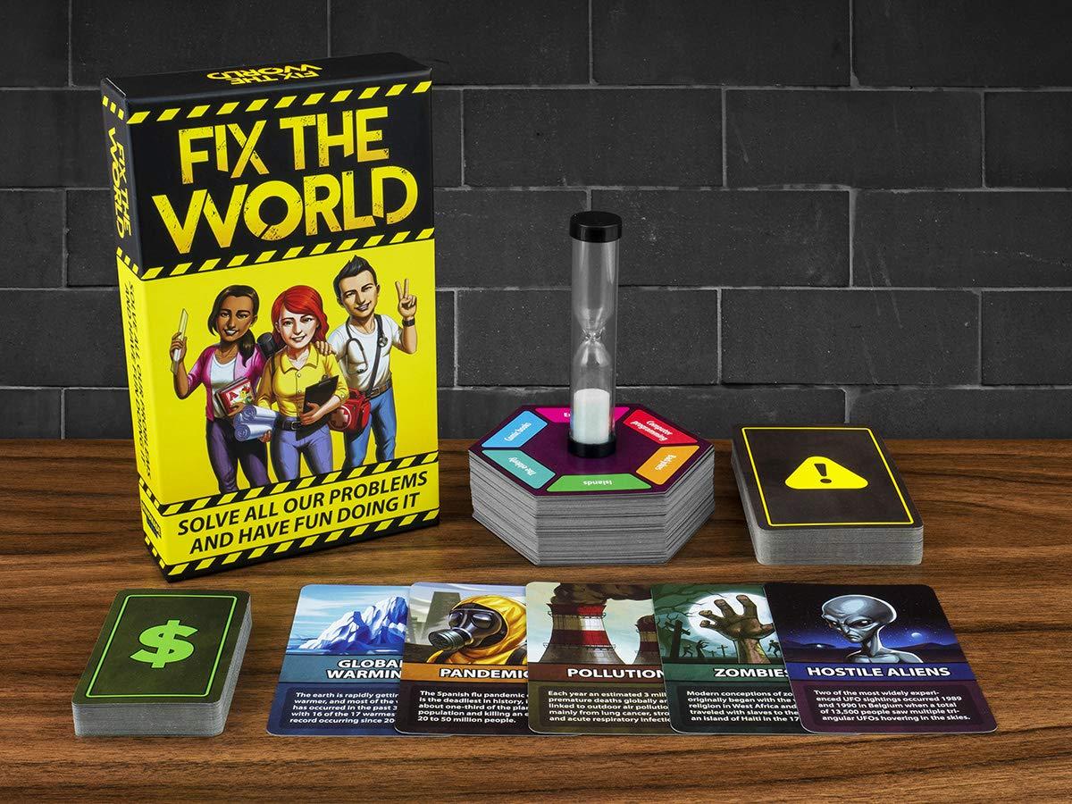 Mindmade Games Fix The World Spiel Gelb