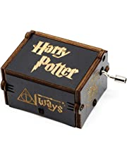 BADARENXS Puro Mano clásico  Harry Potter Caja de música Caja de música de Madera a Mano artesanías de Madera Creativa Mejores Regalos