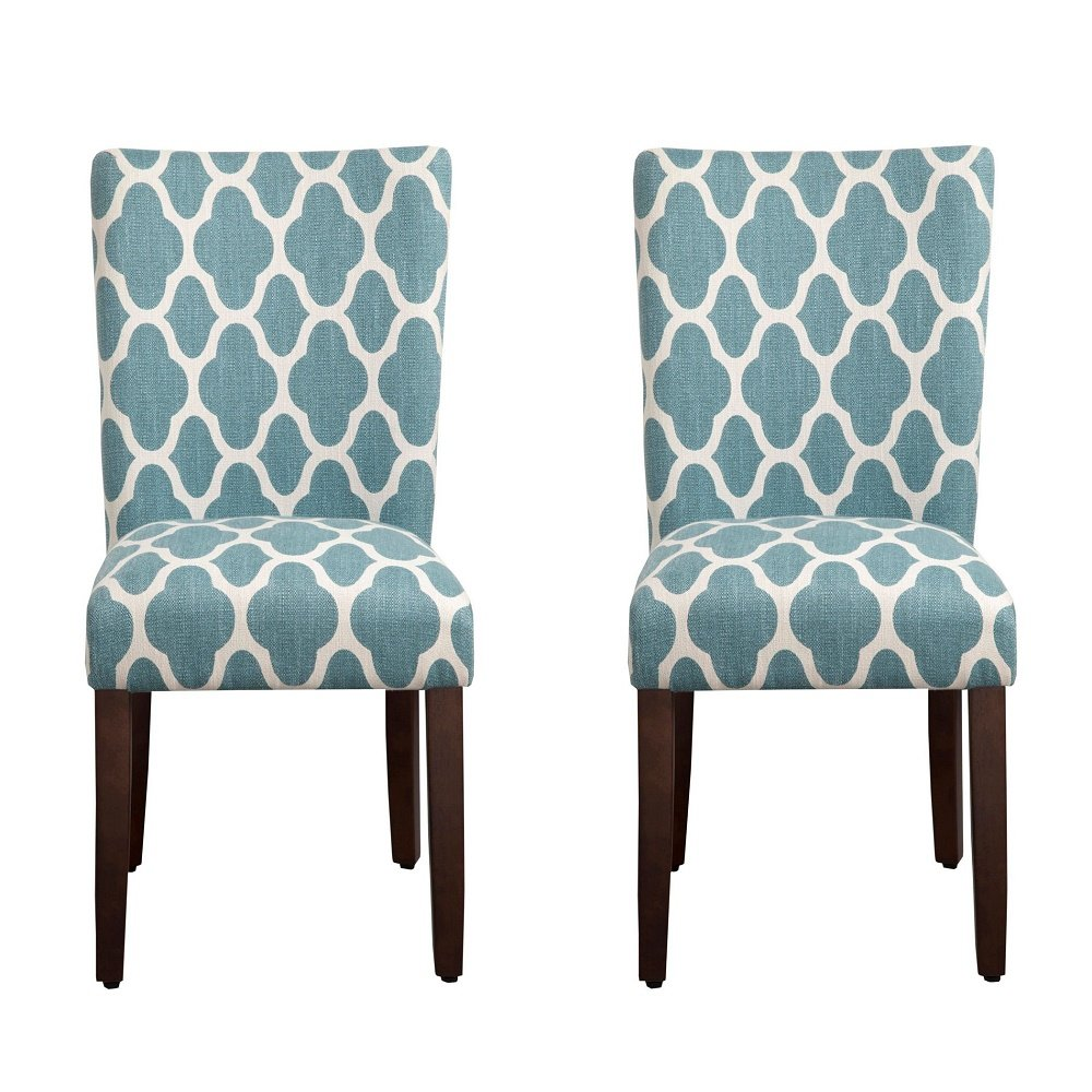 100 blue and white dining chairs walker edison furniture for Blue and white dining chairs