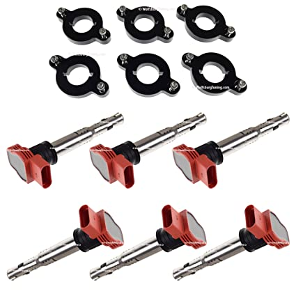 Amazon.com: Audi A6 S4 B5 C5 Allroad FSI TSI Coil Pack Adapter VW 2.7 T 2.7T Turbo coilpack: Automotive
