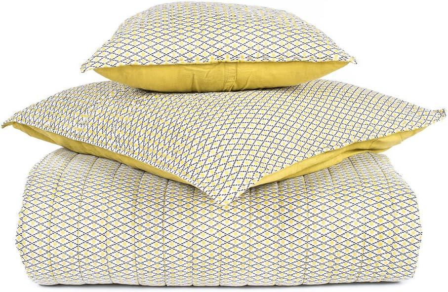 Harmony – Plaid sofá colcha de cama colcha de algodón timiki – 100 ...