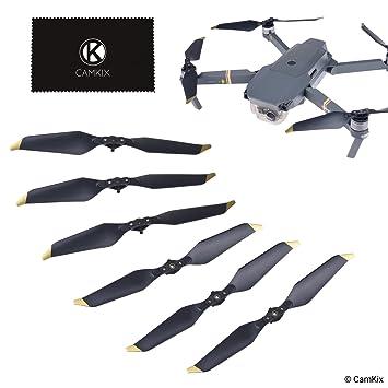 8a94bda3a68 CamKix Propellers replacement for DJI Mavic Pro/Platinum - 6 Blades - Low  Noise -