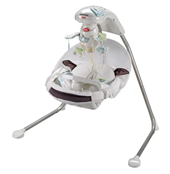 Amazon Fisher Price My Little Lamb Cradle N Swing