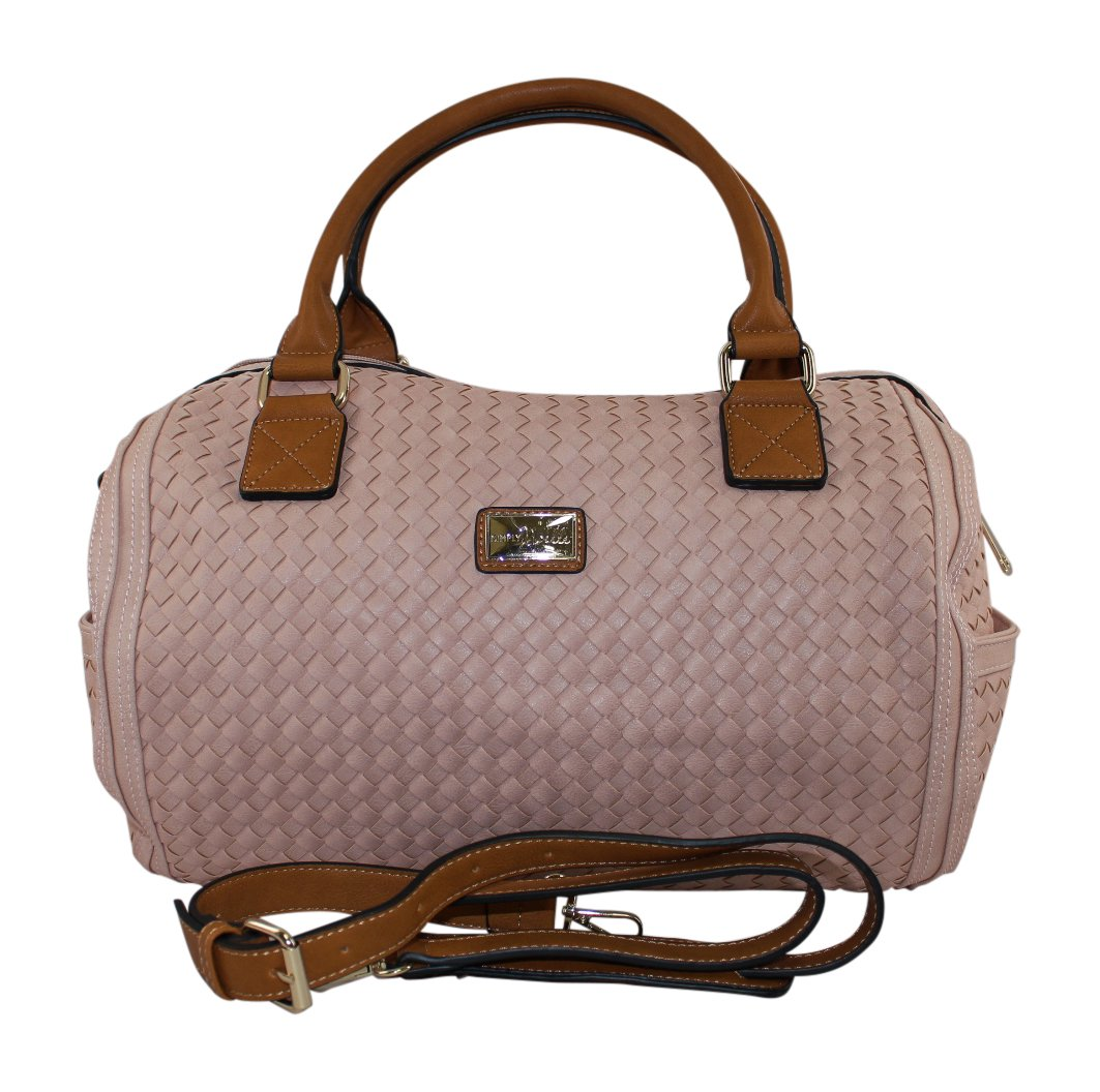 Simply Noelle Outta Here! Weekender Duffel Bag (Cotton Candy)