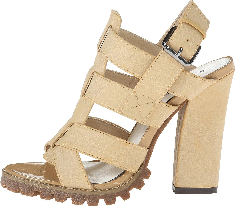 Michael Antonio Women's Kesara Platform Sandal B00PHOC9KI 9 B(M) US Natural