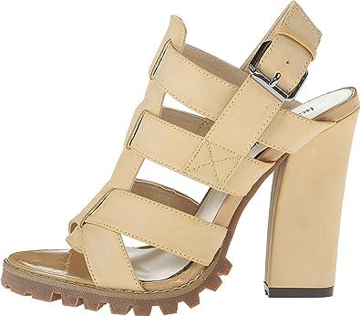 Michael Antonio Womens Kesara Platform Sandal Natural Size 75