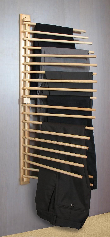 Soporte para pantalones para vestidor INTERHOME Discountici madera de pino barnizada