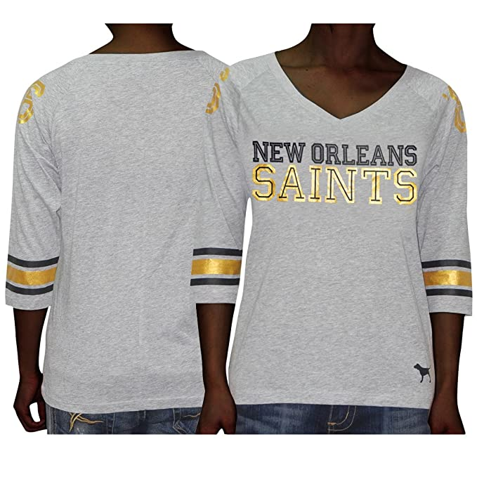 new style 9fbc1 f24cc Amazon.com: NFL New Orleans Saints #66 Womens Pink ...
