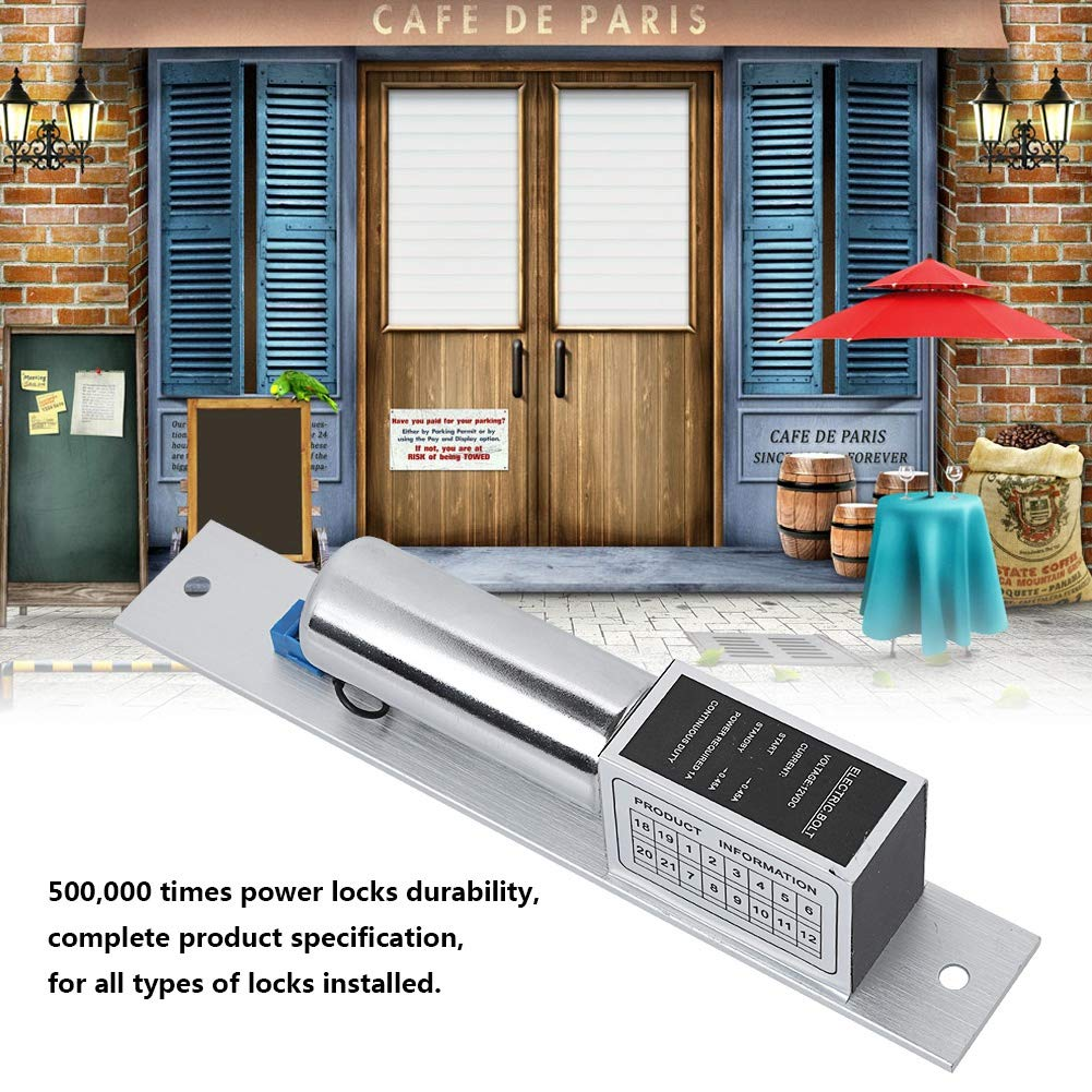 electromagn/ético de control cerradura para el sistema de seguridad del hogar Sonew DC 12V Cerradura el/éctrica de seguridad
