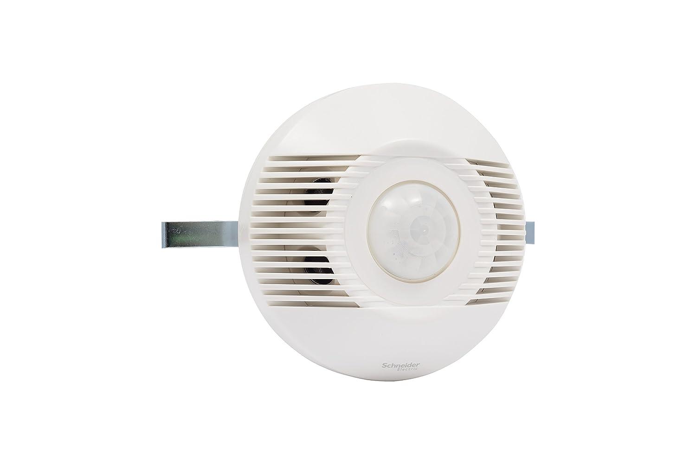 Schneider SAEUEMSCUWE - Sensor de movimiento (infrarrojo, montaje en pared, cobertura de 360º): Amazon.es: Bricolaje y herramientas