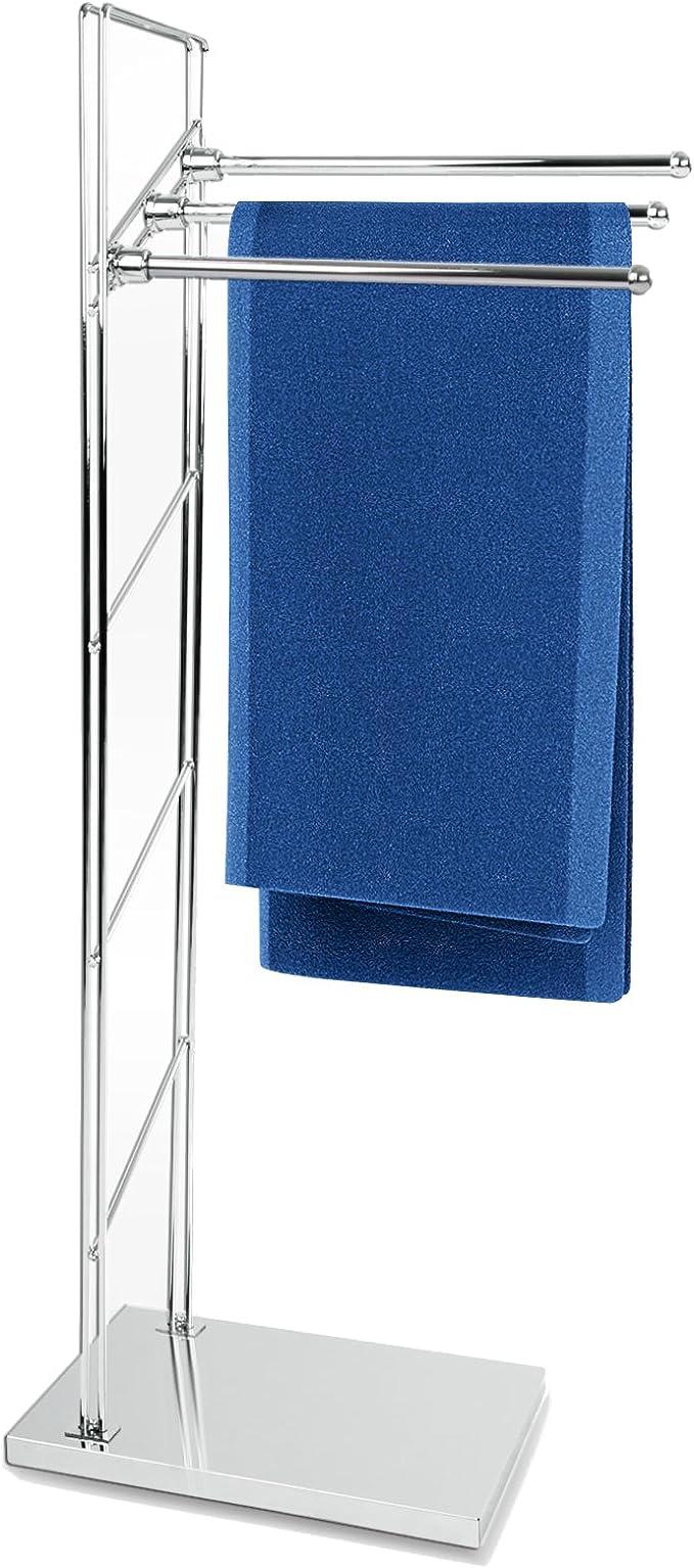 casa pura Handtuchständer Apollo freistehender Handtuchhalter Testnote 1 8 3 armig