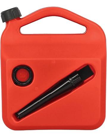 Carburante-bidón de plástico jerrycan apilables onu-autorización 10l rojo