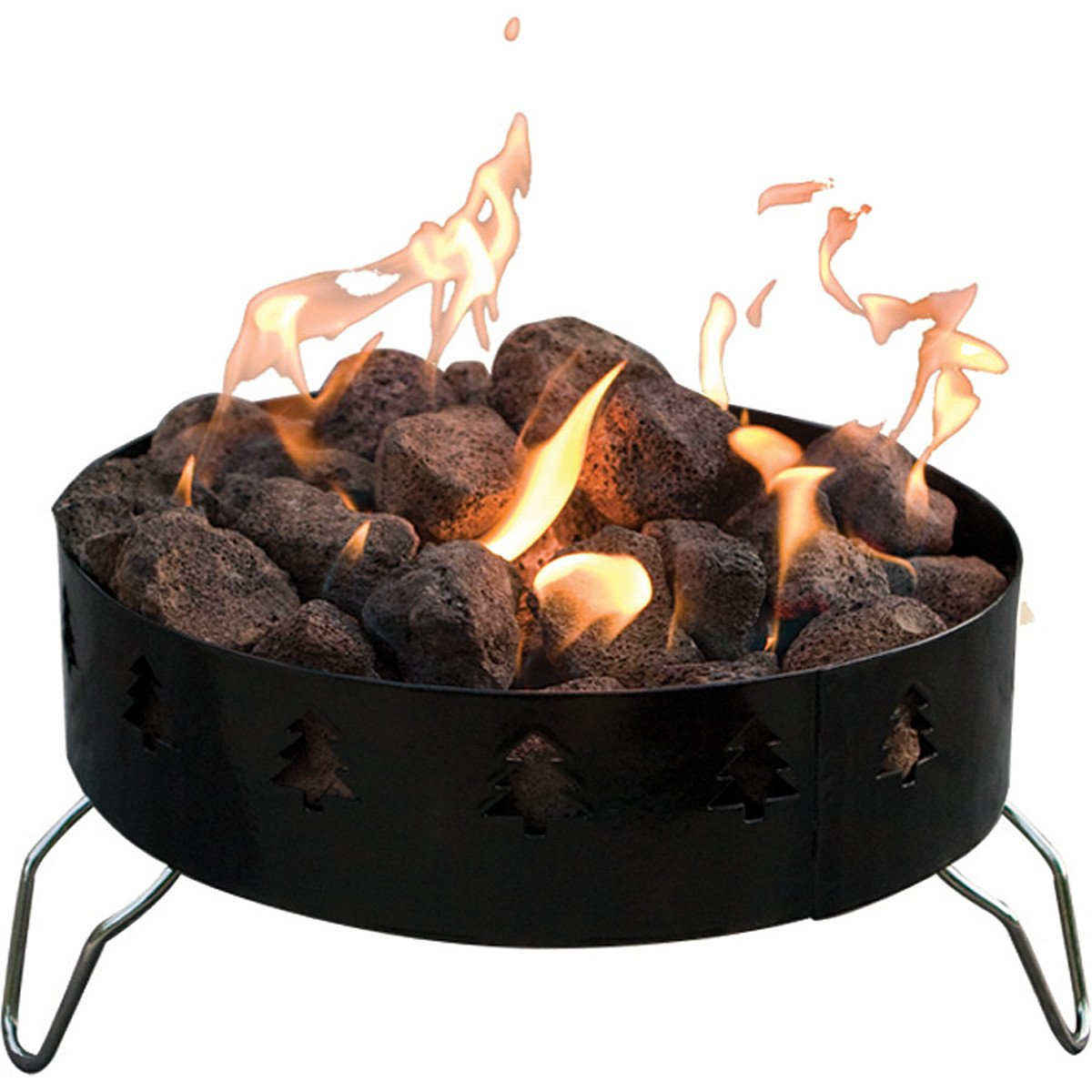 amazon com camp chef portable fire ring one size sports u0026 outdoors