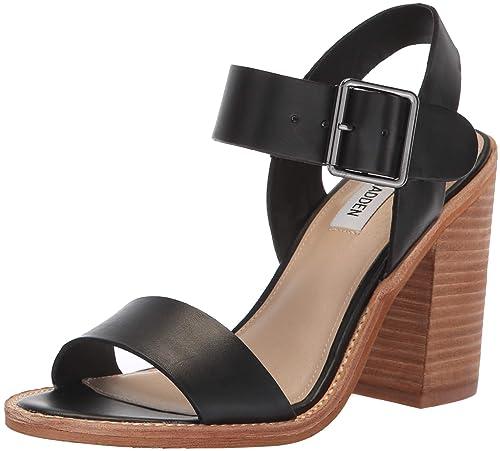 6a11bb94e72 Steve Madden Womens Castro Heeled Sandal  Amazon.ca  Shoes   Handbags