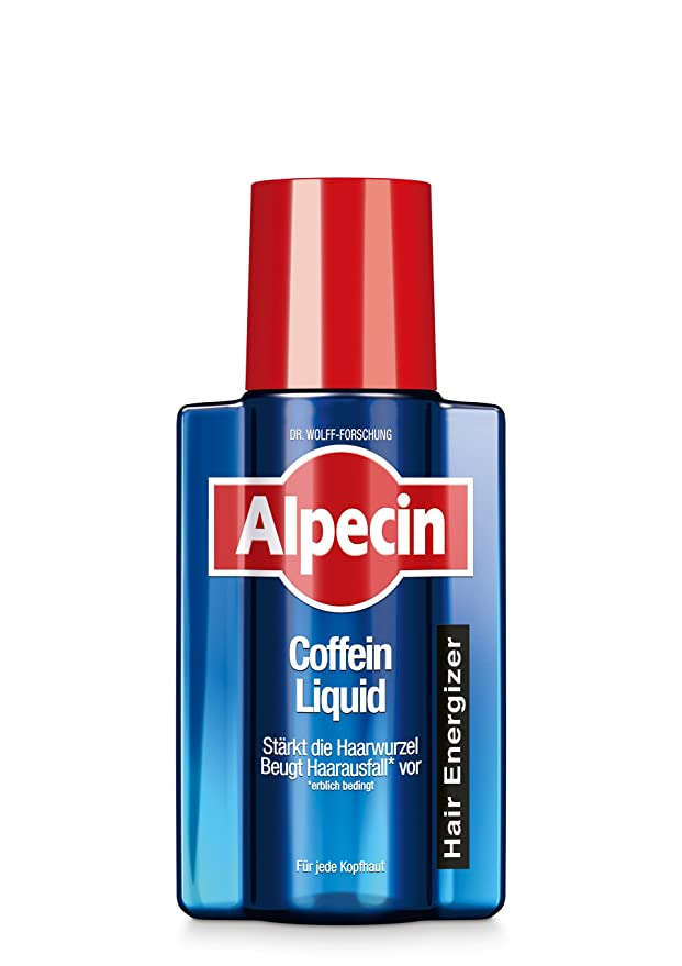Alpecin Caffeine Liquid Scalp Tonic – Reduces hair loss and energize hair and scalp, 200ml: Amazon.in: Beauty