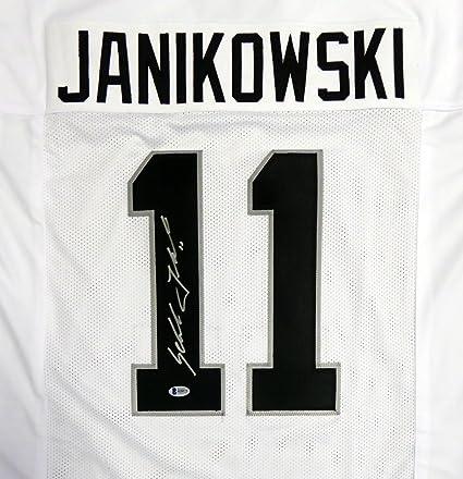 OAKLAND RAIDERS SEBASTIAN JANIKOWSKI AUTOGRAPHED WHITE JERSEY BECKETT BAS  STOCK  114983 4e38a0f4c