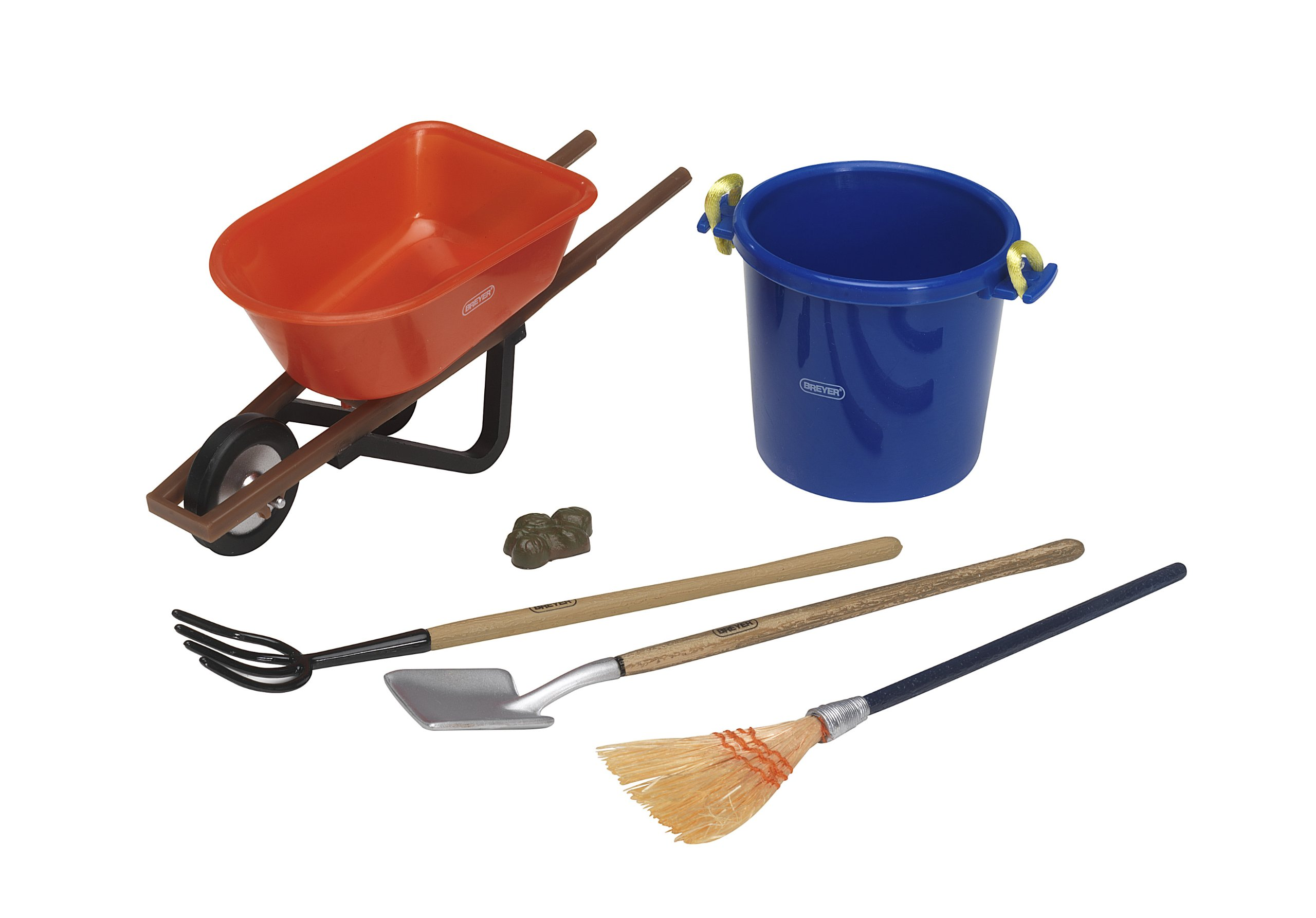 Breyer Traditional Stable Cleaning Set (1:9 Scale) by Breyer