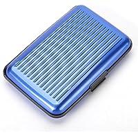 RFID Bloqueo de Aluminio Delgada Tarjeta de Crédito