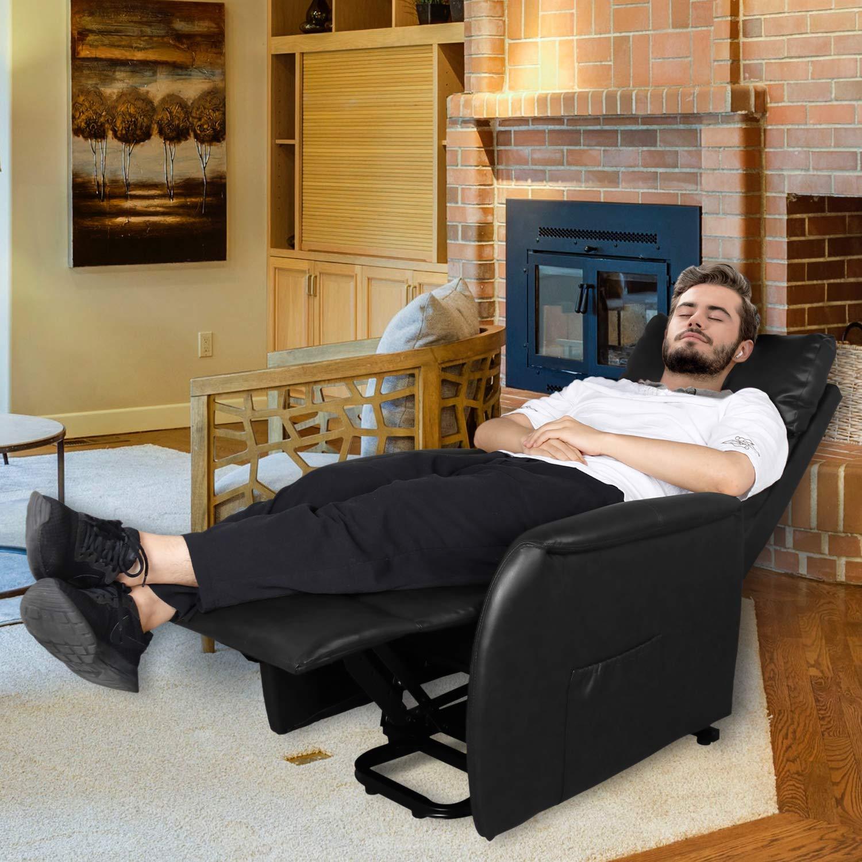 Amazon.com: Sillón reclinable eléctrico con control remoto ...
