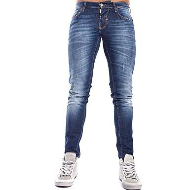 967f8195d348e3 Antony Morato Jeans Don Giovanni Super Skinny Denim mmdt00060/fa750011 -  Blue - XL