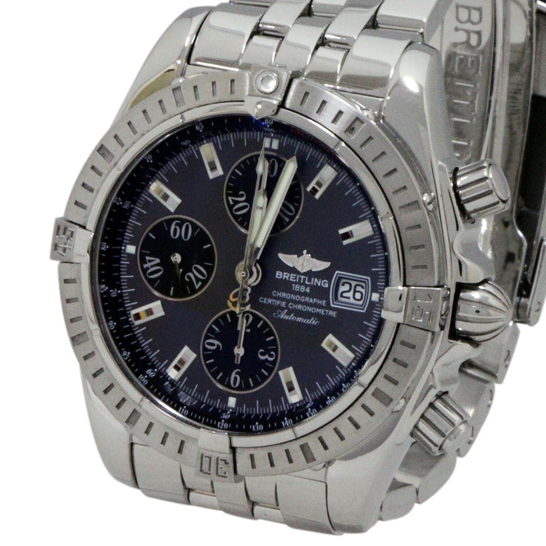 [ブライトリング]BREITLING メンズ腕時計 クロノマット エボリューション A156F17PA グレー文字盤【中古】 B00GD83N2U