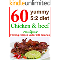 60 yummy 5:2 diet chicken and beef recipes: Fasting recipes under 300 calories