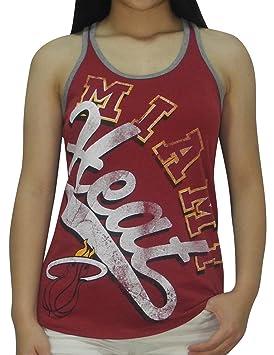 Miami Heat de la NBA - baloncesto Athletic Vintage Look camiseta de tirantes: Amazon.es: Deportes y aire libre