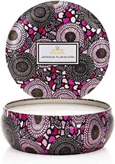 product image for Voluspa Japanese Plum Bloom 3 Wick Candle Tin, 12 Ounce