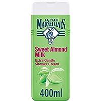 LE PETIT MARSEILLAIS, Shower Cream, Sweet Almond, Extra Gentle, 400ml