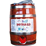 50th birthday beer keg gift - Best 50 year old in the world design on a lovely Scottish IPA craft ale.