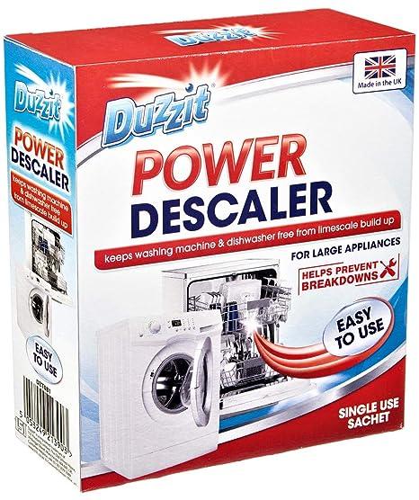 Duzzit Power Descalcificador para Lavadora y lavavajillas para ...