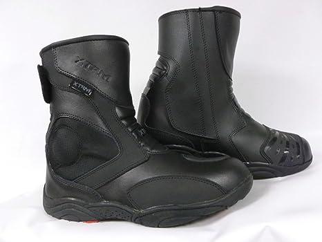 iHAZA Uomo Casuale Tenere Scarpe Calde Resistente All'usura Stivali Da Moto Di Larghezza Inferiore