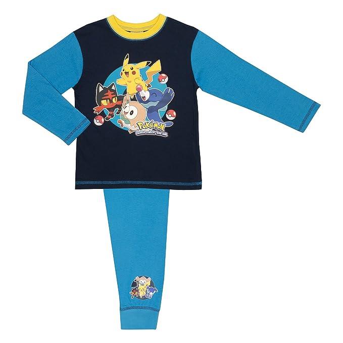Cartoon Character Products Boys Pokemon Pyjamas - Age 5-12 Years ...