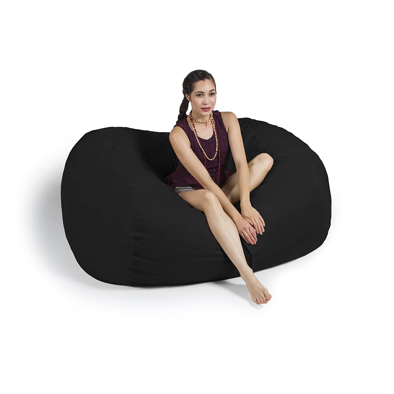 Amazon.com: Jaxx sofá saxx 6 ft gigante Puf de espuma ...