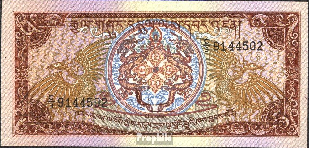 Bhutan Pick-No.: 14 1985 5 Ngultrum (Banconote ) Prophila Collection