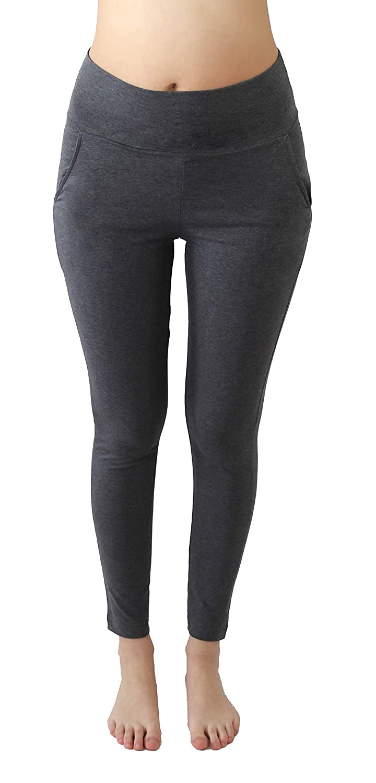 ALBERO Pantalones de Yoga para Mujer, algodón orgánico, Gots ...