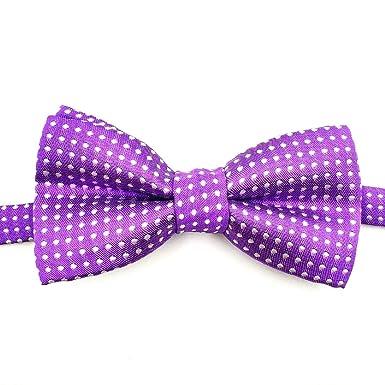 LR xiaorunfa Niño (corbata de cuello) punto punto punto lazo arco ...