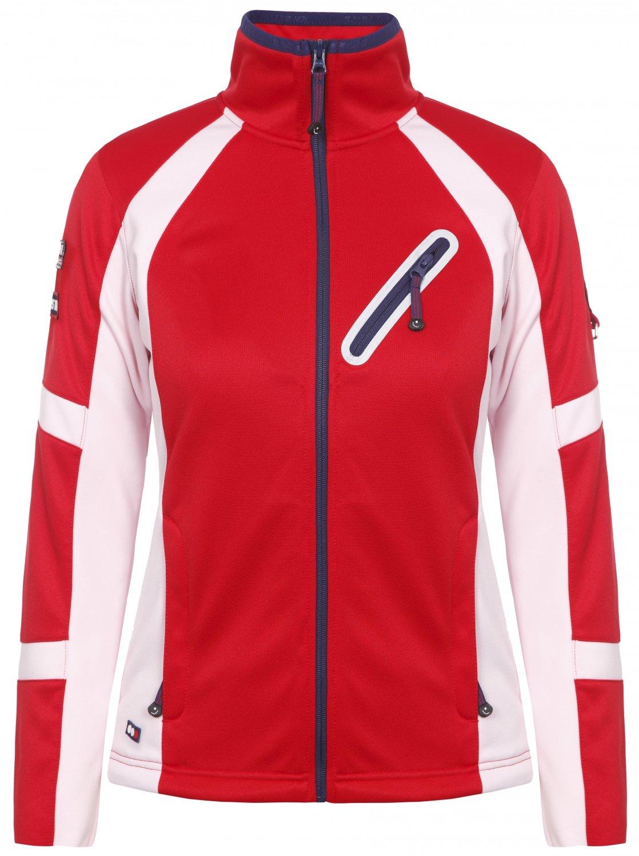 Icepeak TIERRA Skipullover Skirolli in rot - weiß