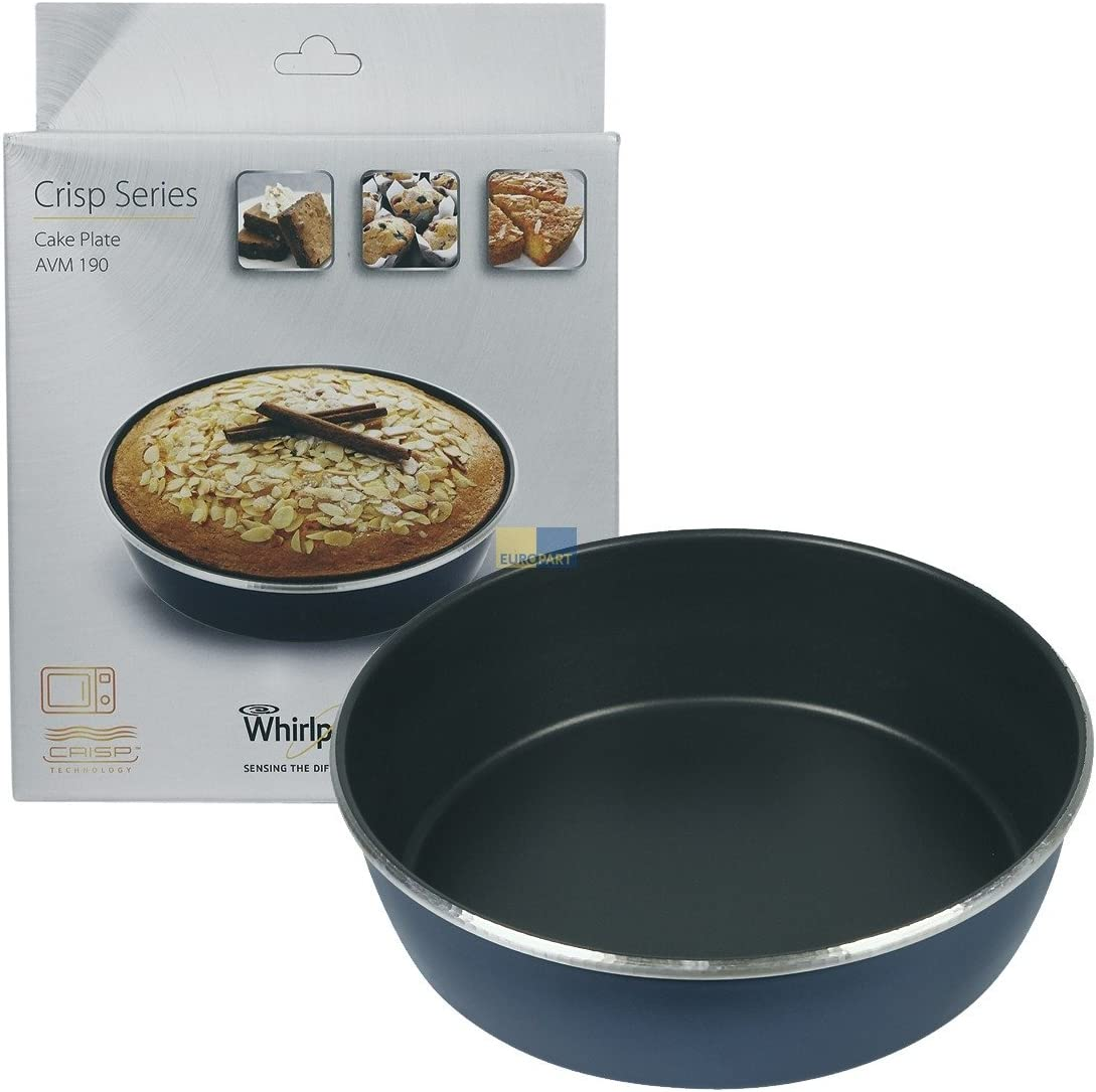 Plato para función Crisp (a Manque) Diam. 21cm alto. 5,5cm avm190microondas Whirlpool max18