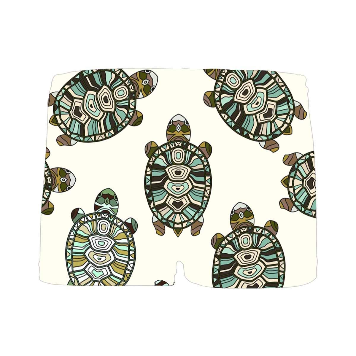 INTERESTPRINT Boys Turtles ComfortSoft Printed Boxer Briefs 5T-2XL
